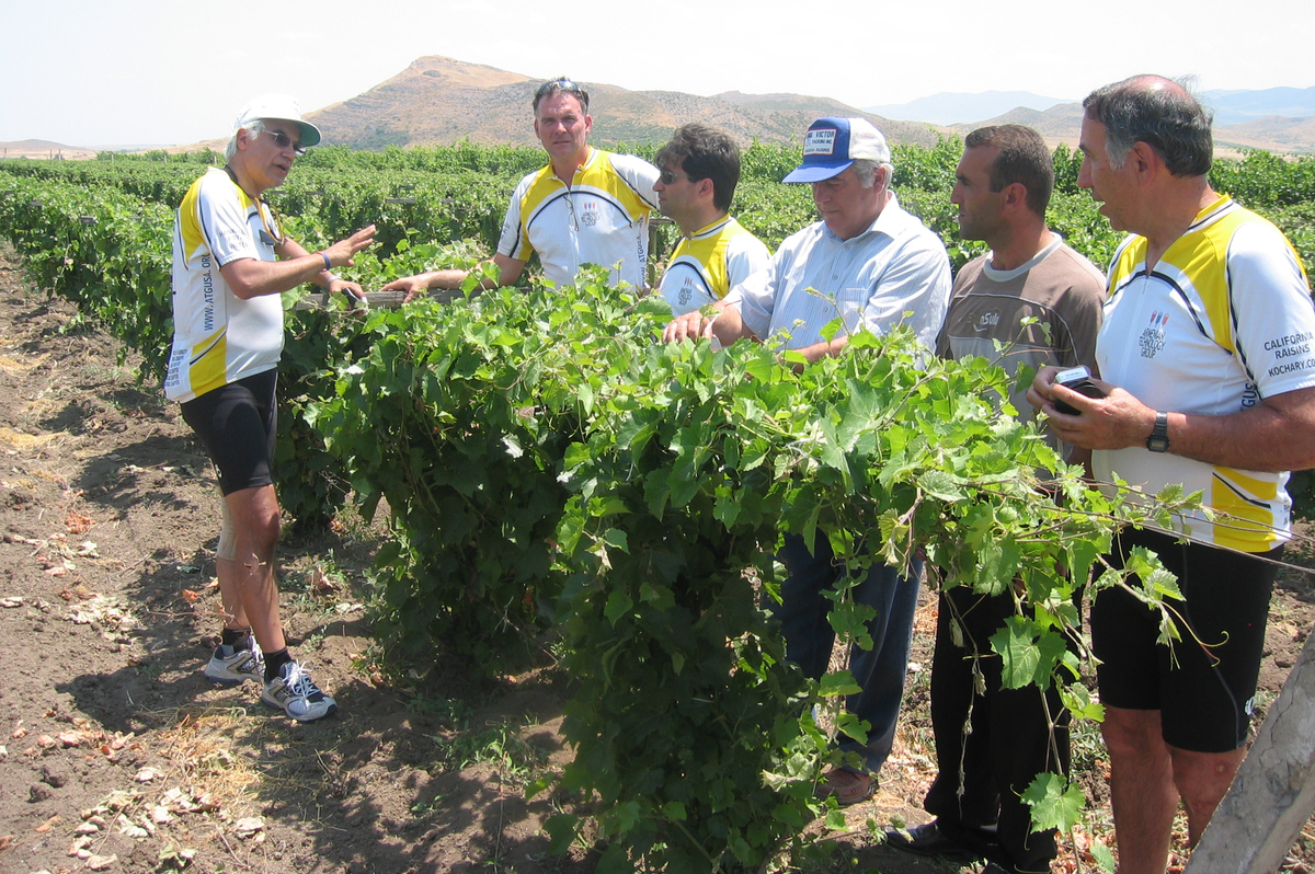 Atg Agro Tour At Grape Nursery In Artsakh